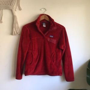 Red Patagonia Pullover